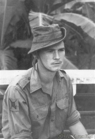 Dré van Kan, Nederlands Indië, 1948