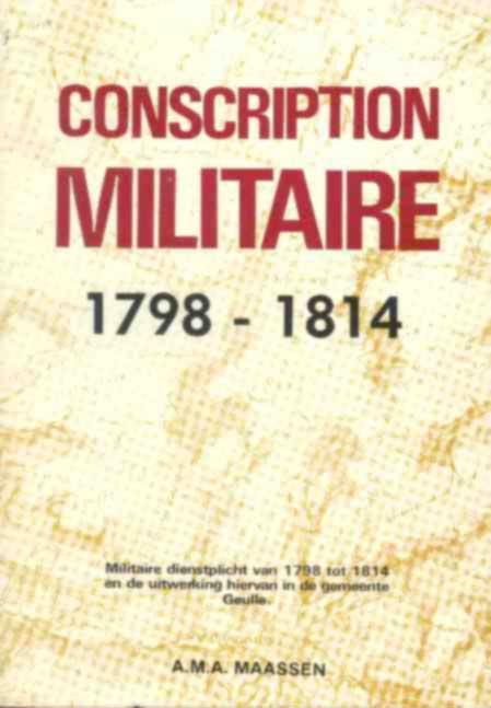 Boek: Conscription Militaire.