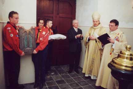 Sint Martinuskerk Geulle: herinneringsplaquette