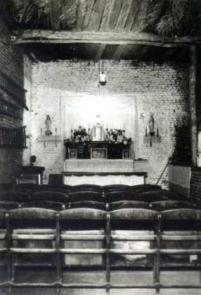 Voormalige noodkerk te Geulle